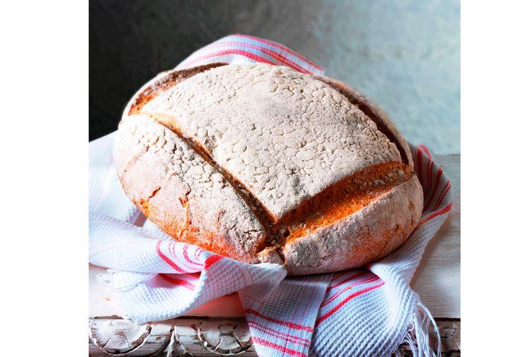 Saftig og og godt bondebrød bakt med spelt. Helt uten elting!