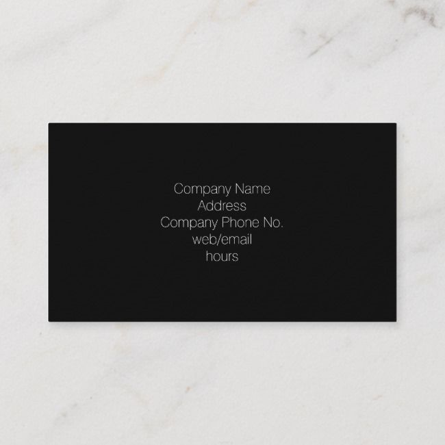 Classblack Business Card Zazzle Com Business Cards Black