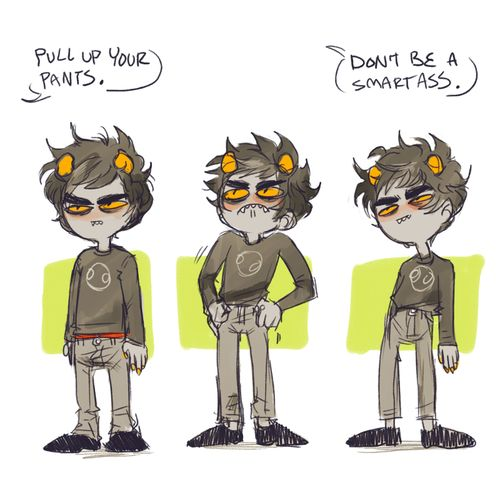 Other people my age: 'I got my dream job!' 'I just got married!' 'I'm going to work in Brazil!' 'I bought my first house!' Me: 'I'm going to Dragon Con cosplaying a grouchy troll!' #karkalicious #homestuck Karkat Vantas