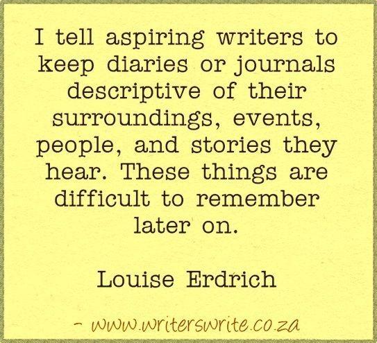 Quotable - Louise Erdrich - Writers Write Creative Blog