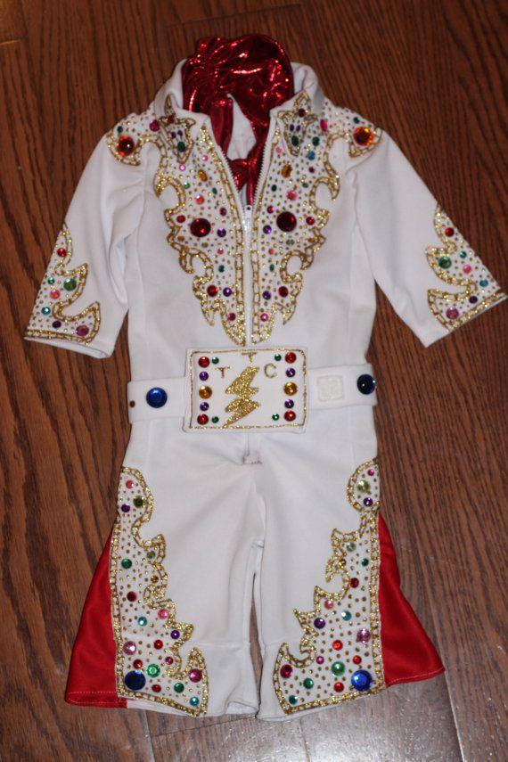Elvis Presley Costume by thinkitsewit on Etsy