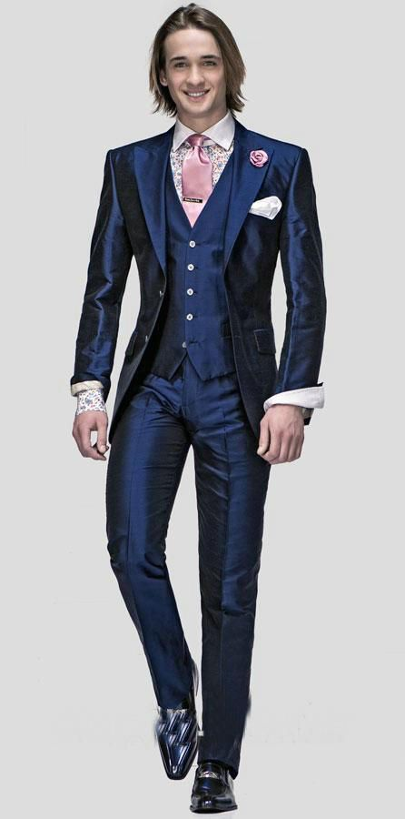 http://fashiongarments.biz/products/new-design-two-buttons-blue-groom-tuxedos-groomsmen-mens-wedding-prom-suits-bridegroom-jacketpantsvesttie-k897/,   Welcome to Groom Wedding Suit Shop  This suit include:(Jacket + Pants + Vest + Tie + Handkerchief) please tell me your size and color when you place order If you need the shirt, please plus 20usd/piece.Click the picture to order for shirts if the standard size not fit for you.want to custom made a suit(that price is same),it is…