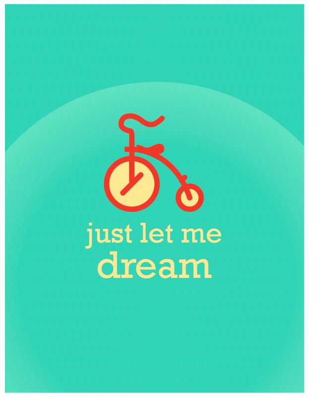 Just let me dream illustration - Design Individuals