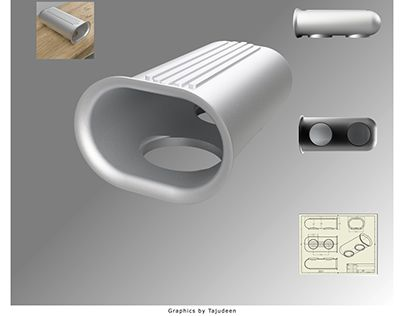 "Check out new work on my @Behance portfolio: ""Car air filter scoop"" http://be.net/gallery/62385479/Car-air-filter-scoop"