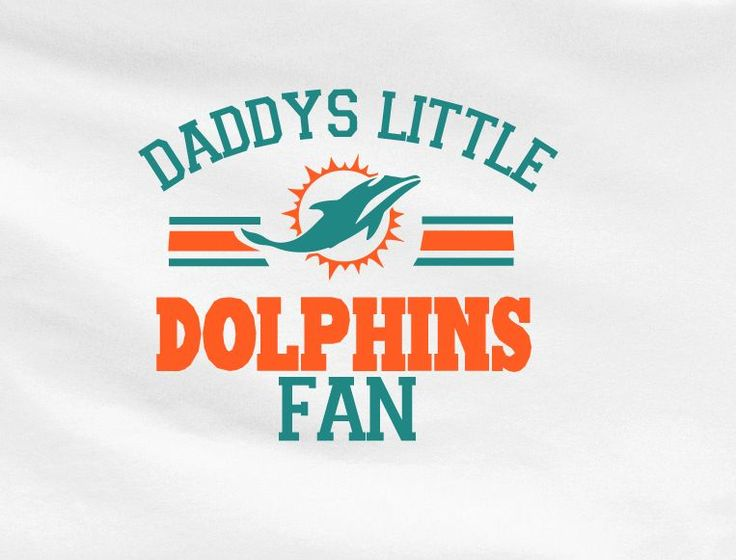 White Custom 2 Color Daddys Little Miami Dolphins Fan Tee Tshirt T-Shirt Toddler Youth