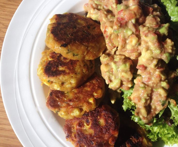 Recipe Tasty Corn Patties by Nat Louise - Recipe of category Main dishes - vegetarian