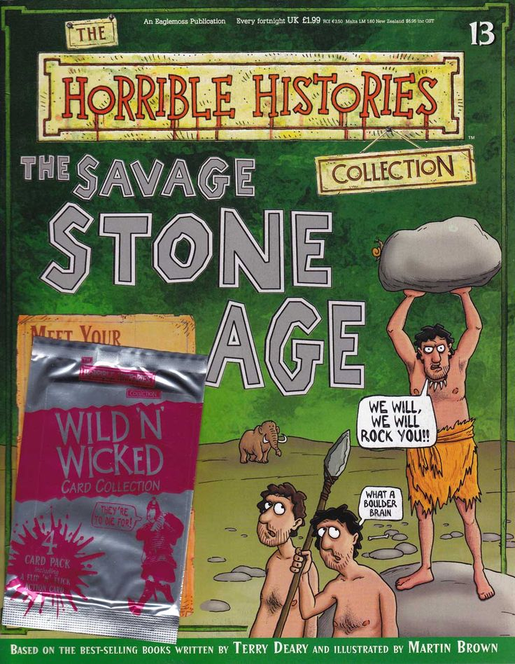 Savage Stone Age from Horrible Histories Magazine FREE online