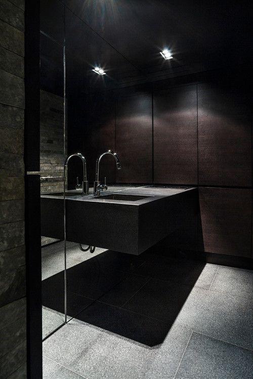 Łazienka w piwnicy - Zakopane- proj.Bartek Wlodarczyk - zobacz szczegóły na myhome.pl