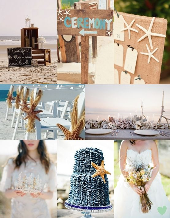 Rustic Beach Wedding Theme