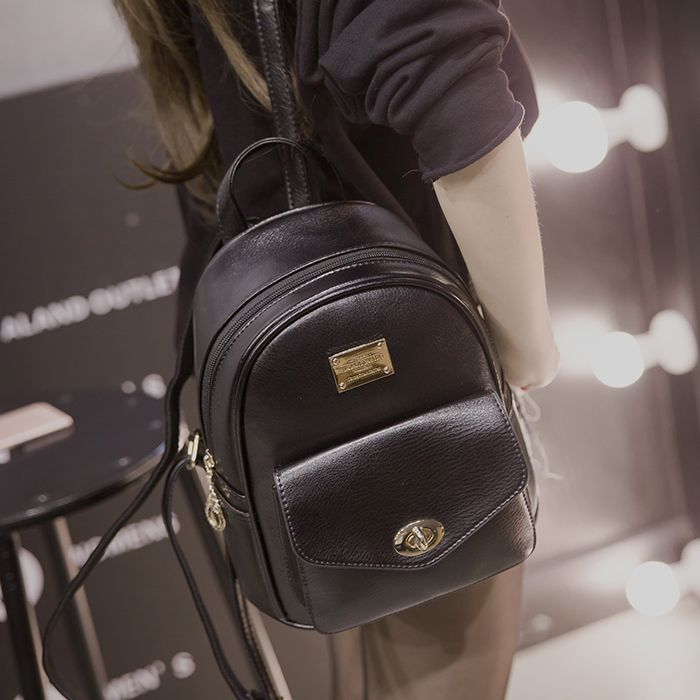 Women high quality pu leather backpack lady cool small travel backpack female soft and comfortable backpack teenager daypack