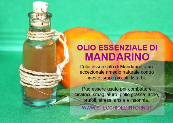 olio essenziale mandarino proprietà impieghi rimedi fai da te