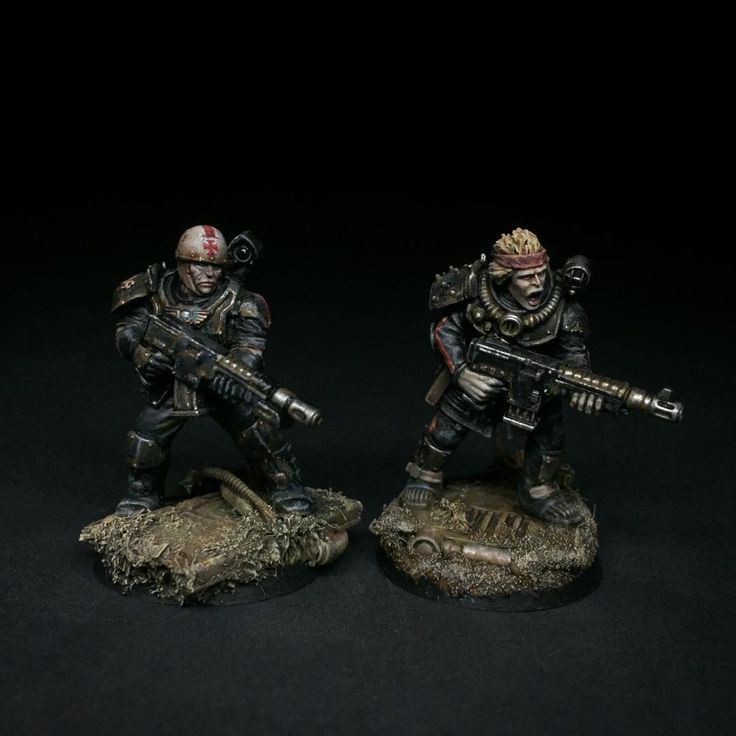 """Enforcers of the Special Field Discipline Company """"the Hounds"""" #thornmoonscrusade #sleetinvitational #ironsleet #paintingwarhammer #inq28"""