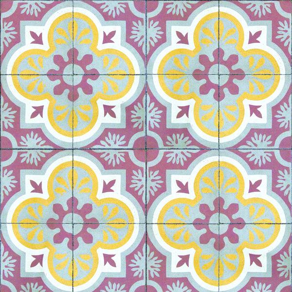 """""""Mandala"""" from Tiles Collection at LAVTHEM.cz"""