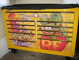 Matco tools limited edition rat fink toolbox