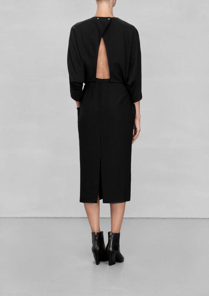 Pinterest Fashion Black Dress