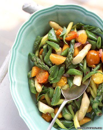 Sauteed Spring Vegetables | Recipe