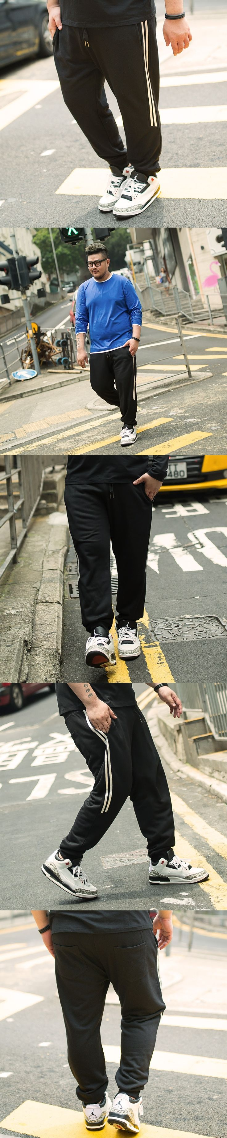 new big Size 48 For140KG Jogger Pants Sportswear Pants Mens Tracksuit Casual Pant Male Fitness Workout Pants Sweatpants Trousers