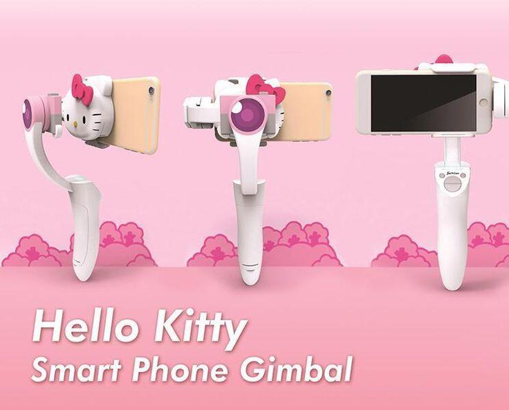 Swiftcam Sanrio Hello Kitty Handheld Holder Stabilizer Gimbal for Smartphone