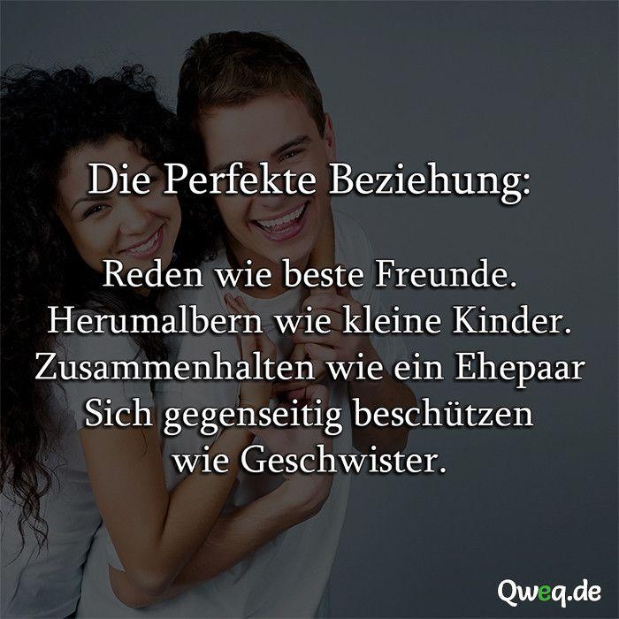 Die Perfekte Beziehung Spruch