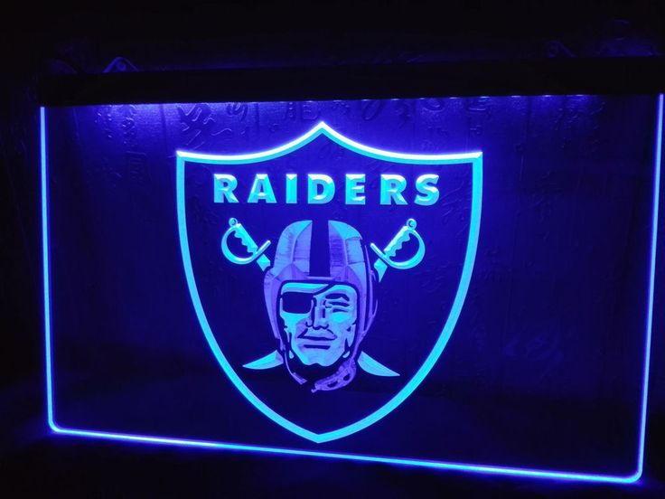 Led Sign Home Decor Interesting La143 Oakland Raiders Football Bar Beer Led Neon Light Sign Man Design Inspiration