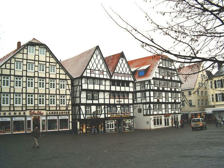 Soest, Germany, my early years