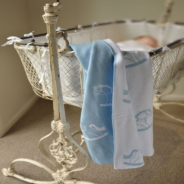 Baby blankets from Little Bonbon are designed in Australia and made out of the softest cotton knit so that your precious little one stays warm and cozy. Give them the timeless gift of a baby blanket they will treasure for years from Little Bonbon.  100% Premium cotton super soft reversible baby blanket, perfect for prams and bassinets.  The size of the blanket is 100cm x 80cm.