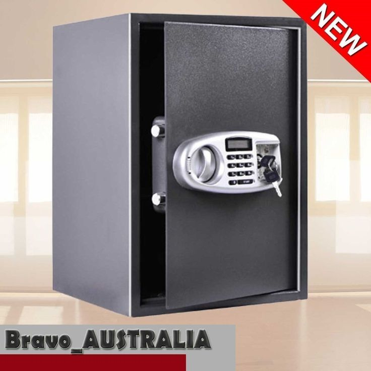 Electronic Lock Security Safe Box with LCD Jewelry Storage Office Home Deposit