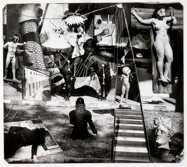 Joel-Peter Witkin, En attendant De Chirico dans la section des artistes du purgatoire, 1994
