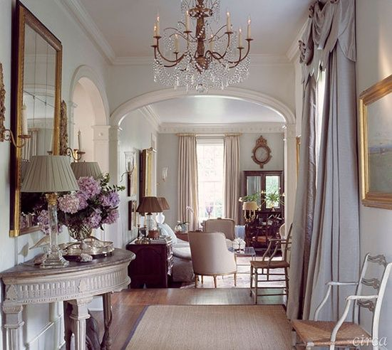 Combinatie pastelkleuren goud donker hout ideas for for Shore house decorating ideas