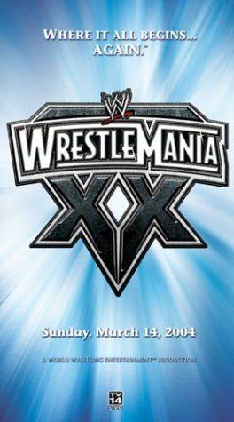WWE: Wrestlemania XX [VHS]
