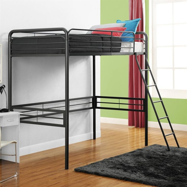 shop dhp metal loft bed at the mine browse our bunk beds all