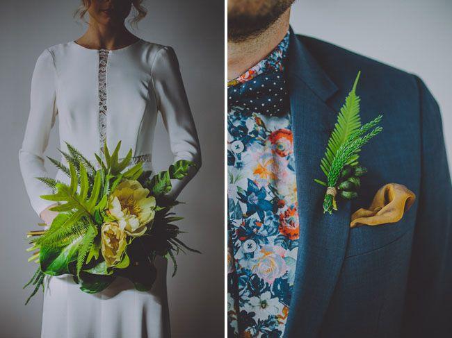 tropical bouquet + palm bout