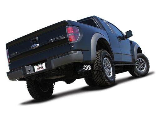 Borla S-TYPE Cat-Back for 2011-2014 Ford Raptor 6.2L Super CAB / CREW #140383: 2011-2014 Ford Raptor 6.2L V8 Borla S-TYPE Cat-Back Exhaust…