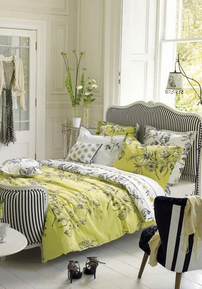 Watelet by Designers Guild - Love this idea for GA's big girl room!