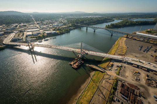 Portland's Tilikum Crossing to Become America's First Multimodal Car-Free Bridge