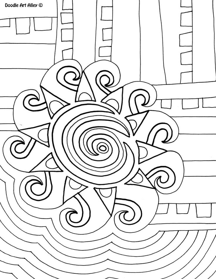 Abstract Cross Coloring Pages : Best adult coloring pages images on pinterest