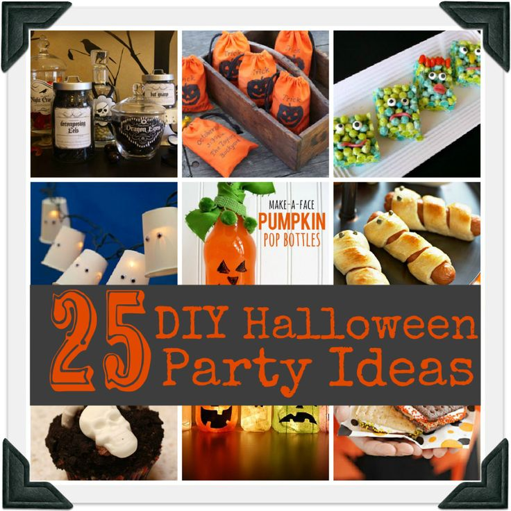 25 diy halloween party ideas halloween pinterest Diy halloween party decorations