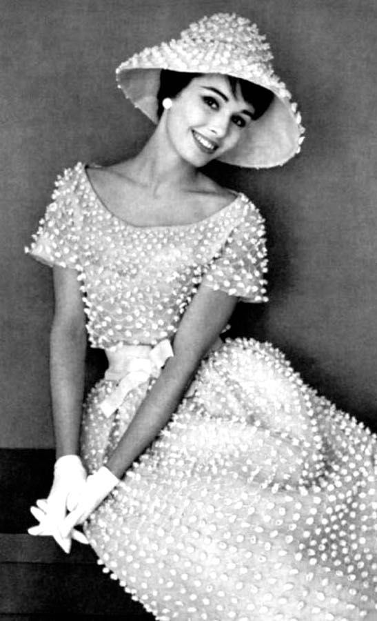 Christian Dior, 1959. Please like http://www.facebook.com/RagDollMagazine and follow Rag Doll on pinterest and  @RagDollMagBlog @priscillacita Instagram rag_doll_magazine  https://www.bloglovin.com/blogs/rag-doll-13744543 subscribe to https://www.youtube.com/channel/UC-CB-g60FwQ4U1sJ3ur-Bug/feed?