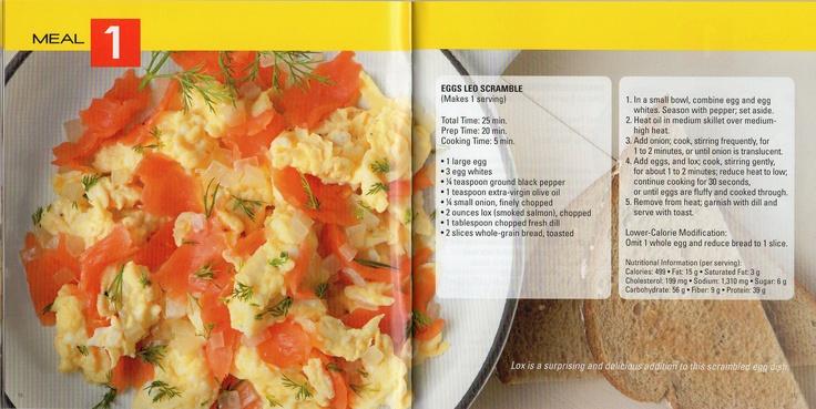 meal 1 - breakfast ;)