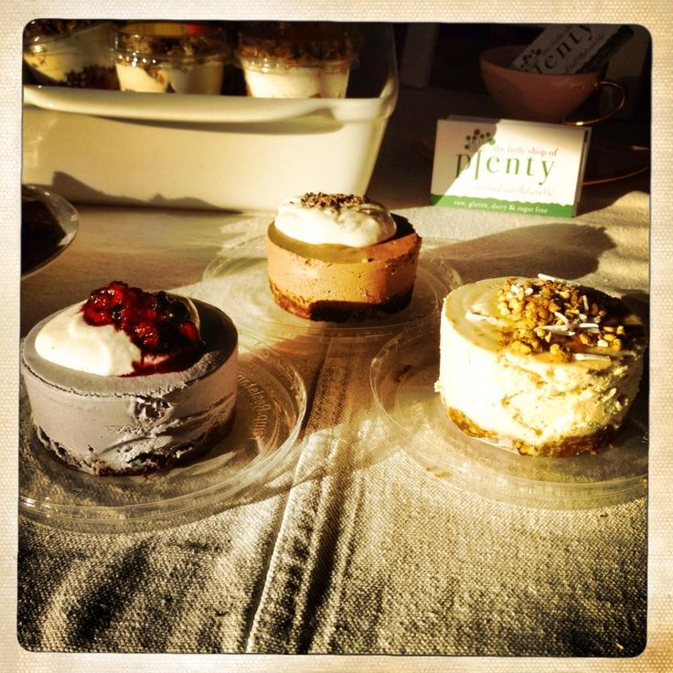 Little Shop of Plenty - Mousse Cakes!