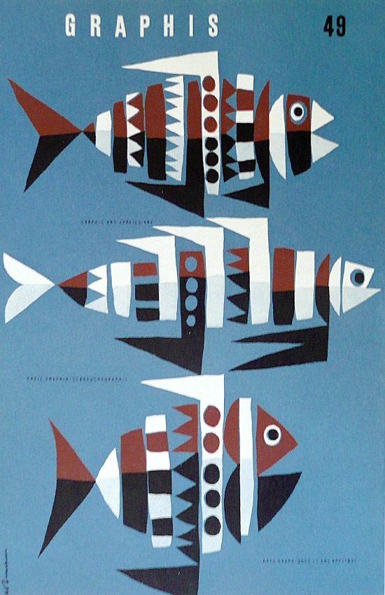 hollyhocksandtulips:  GraphisIllustration by Hans Hartmann