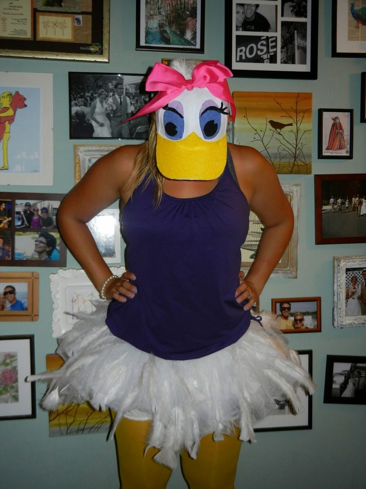 Daisy Duck Running Costume - Gabby Rose Runs: Disneyland Half Marathon Race Recap