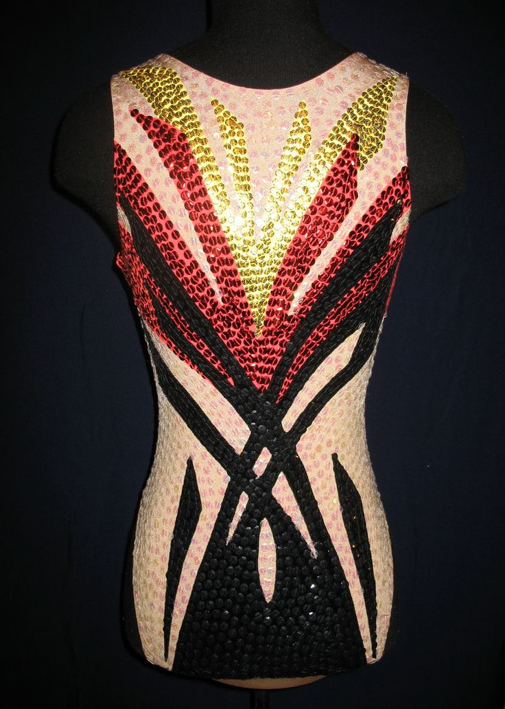 Costume design for Synchro Swimming by Nabatova Irina