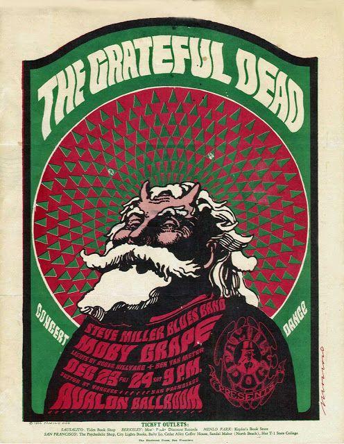 Grateful Dead Handbill Avalon Ballroom (San Francisco, CA) Dec 1966