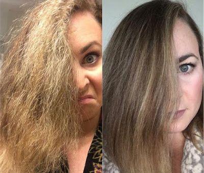 Comment réparer ses cheveux brûlés naturellement Cheveux