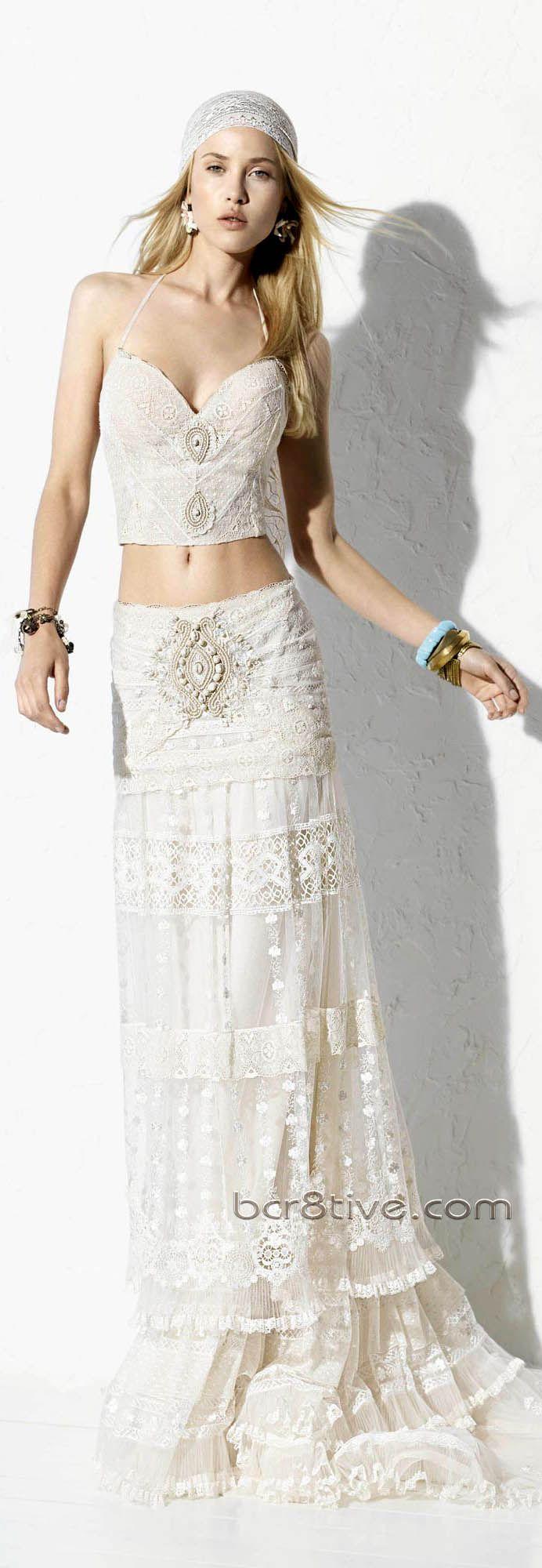 #Yolan Cris 2013 Ibiza Bridal Collection  <3Gown for a beach Wedding