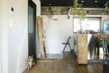 玄関、コンクリート、土間、猫、ペット、躯体、秀建