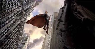 Mundo Superman: Concept art de El Hombre de Acero muestran Metrópolis tras la batalla final