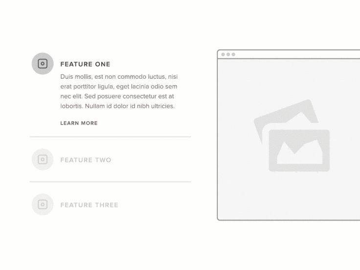 Feature Slider Motion - UI Movement