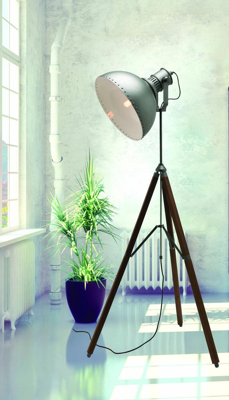 Gladiator Floor Lamp  by #MercatorLighting! #IndustrialLighting #LightingInspiration #InteriorDesign